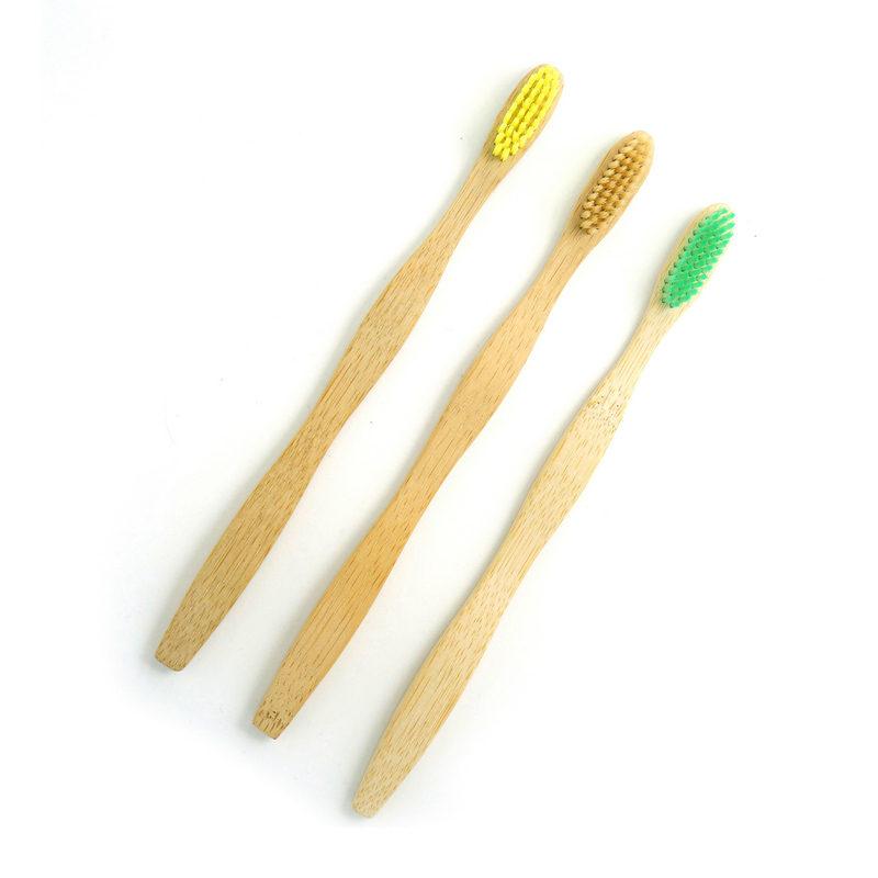 Healthy environmental wooden toothbrush customize logo bamboo toothbrush