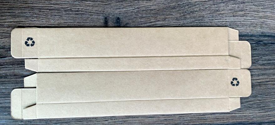 blank kraft box packaging